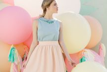 PASTEL COLOR OUTFIT I LOVE IT !!!!!!!!!!!