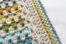 crochet baby blanket / Haakideetjes