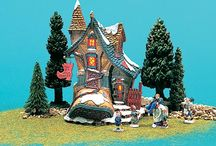 Department 56 Storybook Village / I have acquired the Storybook Village recently. This Department 56 Wonder is retired and so I am very excited about this acquisition.