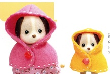 sylvanian families, clothes pattern