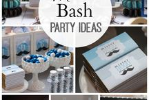 Little man's party ideas