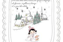 greeting card di @lasottilettarosa / card,cartoline...