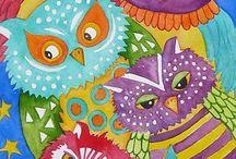 Lisa Cornish - Owls