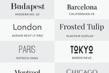 Handlettering fonts