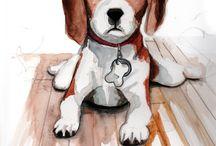 a dogs life, ncea art theme idea
