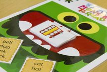 Tabletop games, Printable cards & Posters | Classroom Toolkit | Learn to Read | Teacher Resources / The tabletop games have been specially devised by the team at Teach Your Monster to Read. They offer engaging opportunities for children to practise phonics. The resources include colourful monster-themed boards and playing cards. We've also got printable flashcards, posters and playing cards.