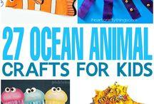 Aquatic Life Toddler Activities