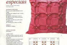 gevouwen en geplooide  quilts