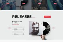 webdesign inspiration music