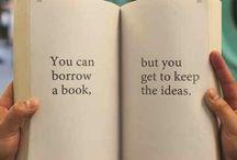 Bücher / Impressionen zu Büchern