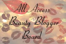 All Access Beauty Blogger Board / Board to promote your pins your blog posts. *You can pin up to five pins per day *All pins must be linked to your own blog posts  and please do not duplicate pins.