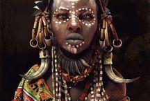 Африка цвет