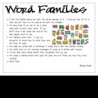 word families / by Lesley Bodkin