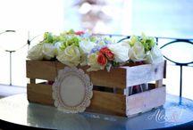 Table Reception Flower Decor