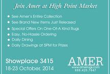 AMER at High Point Market / Join Amer at High Point Market - Show-place 3415, 18 - 23 October, 2014.