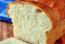 Breads, slices, scrolls, cookies