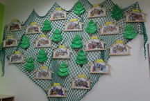Vánoční inspirace / Jednoduchá práce pro děti v MŠ :)