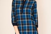 Tartan / Squares for casual style