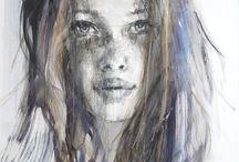 Portretten schilderkunst inspiratie / Portretten schilderen