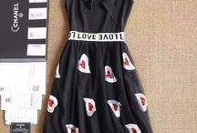 Chanel fashion dress Шанель платье брендовое дизайнерское