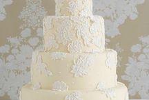Niki n Paul's wedding / Wedding cakes