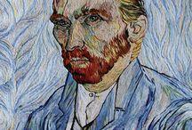 Van Gogh embroidery