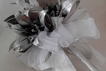 Mércia Faustino / Cold porcelain, quilling, origami and sewing