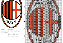 Soccer sport free cross stitch patterns / Soccer sport free cross stitch patterns, badges, teams, logos...