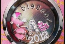 Origami Owl {Inspirations} / Creative ways on telling your stories with customizable living lockets from Origami Owl.