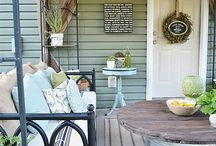 Back Porches and Patios / by Candy Frazier
