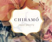 Chiramó. Paper Jewelry / Chiramó jewelry shows respect and care for nature introducing a new material in the jewelry making field: paper, especially reused, upcycled paper. In my jewelry designs I like to mix the paper beads with old and rare charms which gives a vintage touch to the final piece while making it quite unique. Go green! Wear paper jewelry! ;) <3