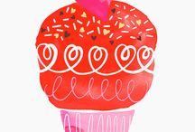 Heart / Cupcake