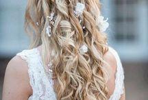 Blumen Haar