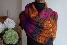 Knit scarfs & cowls / Suitable for special occasions as well as for every-day wearing.