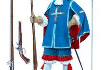 XVI-XVII század / Franciaország XVI-XVII század, fegyverek, ruhák, stb.