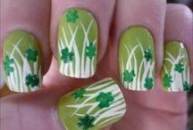 St. Patrick's Day Nail Designs / St. Patrick's Day Fashion Esthetics