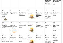 4 menu's to save grocery money