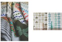 ORNAMENTAL STORIES COLLECTION / FABRIC AND WALLPAPER