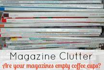 Magazine organising
