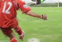 Fotball spiller