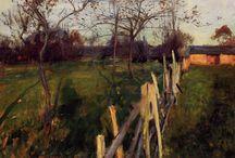 John Singer Sargent - landscapes