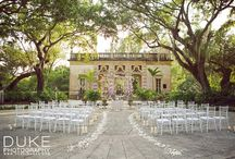 Ceremony Decor We Love! / We LOVE a detailed and romantic ceremony.