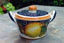 Our Limone Nero Italian Ceramics