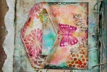 ⊱♰⊰ Art Journaling ⊱♰⊰ / Mixed Media, Art Journaling, Art Pages ...