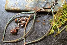 Asymmetry in Design LMAJ / Love My Art Jewelry Blog is hosting a boot camp on Asymmetrical Design. These pins are related to that topic.