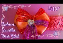 MOÑOS HERMOSOS / Moños, flores, tiaras y accesorios para niñas elaborados a mano