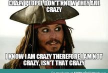 Jack Sparrow & what not :')