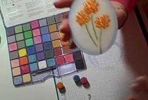 Kaarten Chalk tutorials & tips / by Corinne V