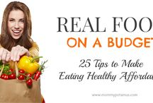 Clean Eating - Real Food / by Kristina Bolding