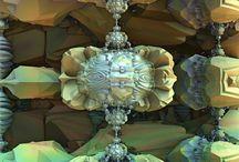 Fractal art mandelbrot